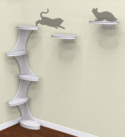 Catemporary Tower and Shelves
