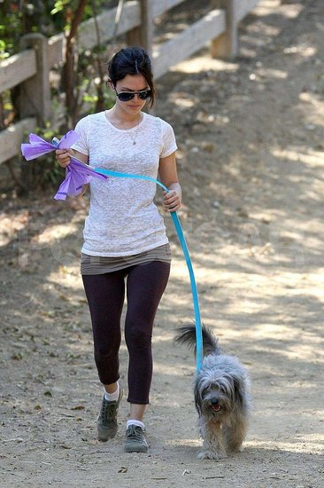 Rachel and Thurman Take a Walk on the Purple Side