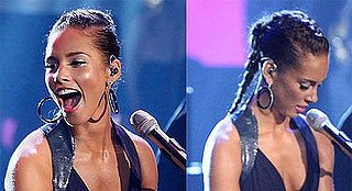 How-To: Alicia Keys's High-Performing Braid at the AMAs