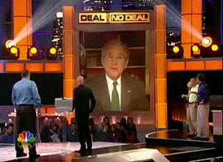 George W. Bush on Deal or No Deal Tonight