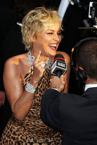 "Sharon Stone Apologizes for ""Karma"" Remark"