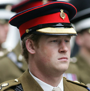 Prince Harry Honors Fallen Soldiers