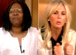 Elisabeth Hasselbeck Cries After Sparring With Whoopi Over N-Word