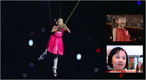 Olympic Singer Replaced With Cuter Girl