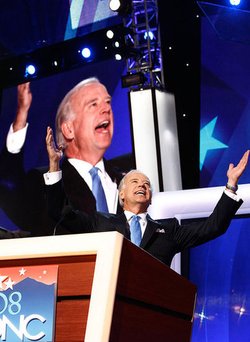 Joe Biden Speaks at the Democratic National Convention and Barack Obama Makes Surprise Visit