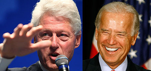 Joe Biden and Bill Clinton Speak at the Convention