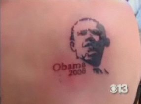 Would You Get a Tattoo of Your Favorite Candidate?