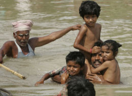 2.5 Million Indians Stranded by Flood