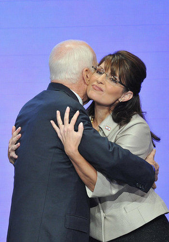 Hug It Out! McCain Brings a New Level of Affection to Politics