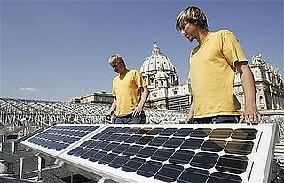 Vatican Installs Solar Panels On Roof