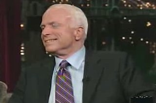 John McCain on Letterman