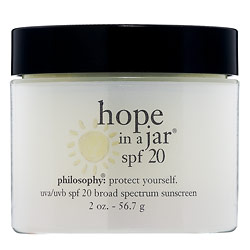 Thursday Giveaway! Philosophy's Hope in a Jar SPF 20