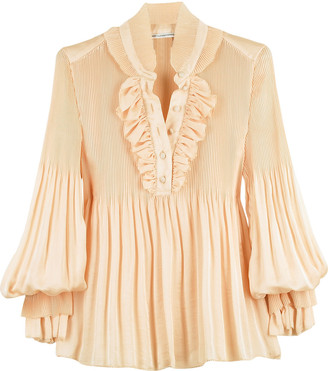 The Look For Less: Diane von Furstenberg Philippine Blouse