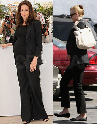 Trendtotting: Lil Black Maternity Suit