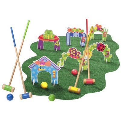 Indoors and Outdoors Preschool Croquet Set ($41)