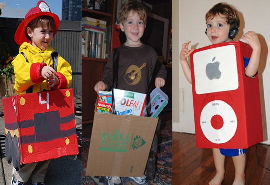 Lil&#039;s Favorite Five: Costumes Made From a Cardboard Box 
