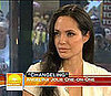 Angelina Jolie Talks About Brad Pitt and Their Kids