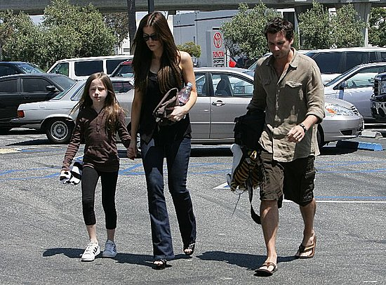 The Beckinsale Crew Heads to the Ice Rink