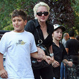Cyndi Lauper and Son Declyn Head to Bar Pitti in NYC