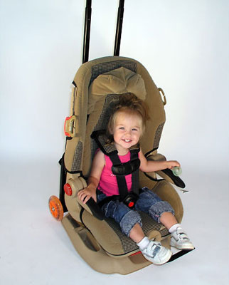 GoGo Kidz Car Seat Wheels