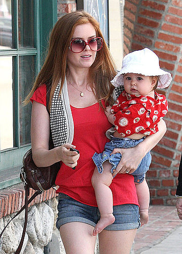 Mini Me: Isla Fisher and Olive