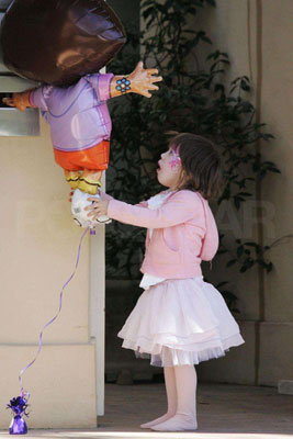 Ava Jackman Gives Dora a Lift