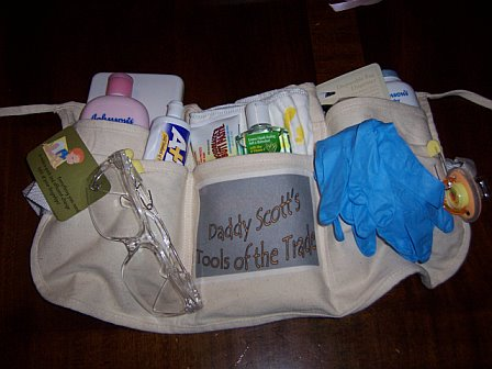 Diaper Duty Tool Belt