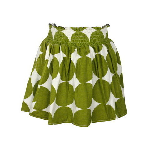 Green Polka Dot Skirt ($88)