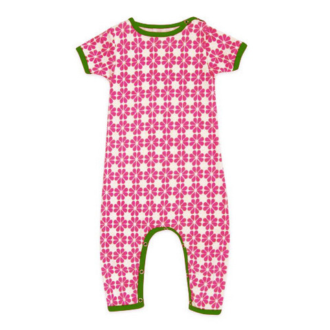 Pink Flower Star Romper ($54)