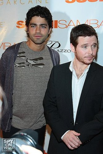 The Cast of Entourage walk the Orange Carpet at the Sushi Samba Grand Opening in Vegas!