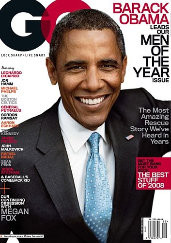 "GQ Names Barack Obama ""Man Of The Year"" With Ted Kennedy-Written Tribute"