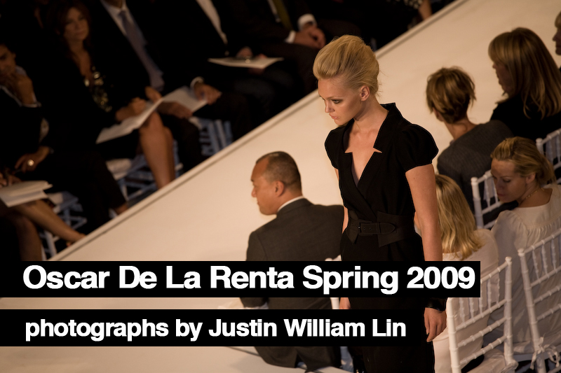 Oscar De La Renta, Photographs By Justin William Lin