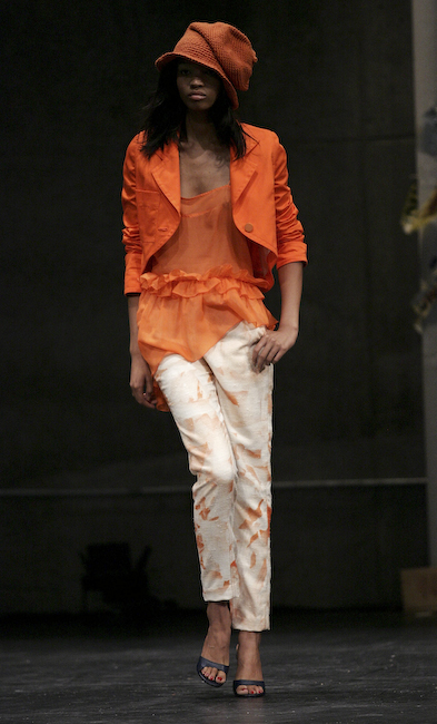 Chris Benz Spring 2009 Runway
