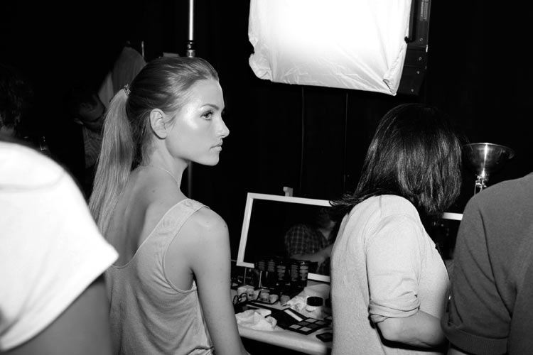 Backstage At Erin Fetherston, Photographs By Robert Malmberg