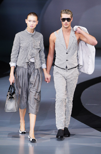 Milan Fashion Week: Emporio Armani Spring 2009