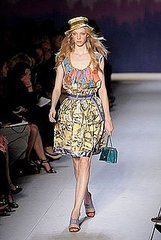 Milan Fashion Week: Moschino Cheap and Chic Spring 2009