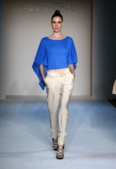 New York Spring 2009 Trend Reports: Blue
