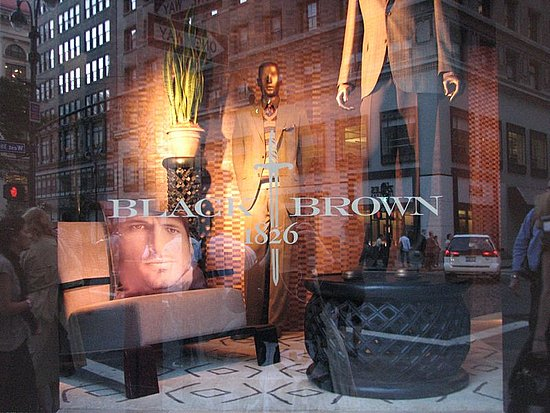Lord and Taylor's Black Brown 1826 Collection