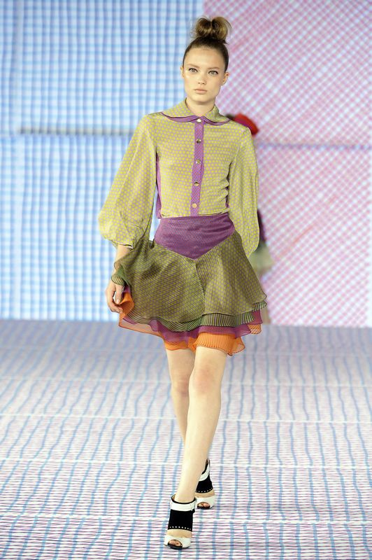 Milan Fashion Week: Pollini Spring 2009