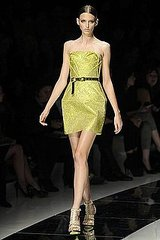 Milan Fashion Week: Versace Spring 2009