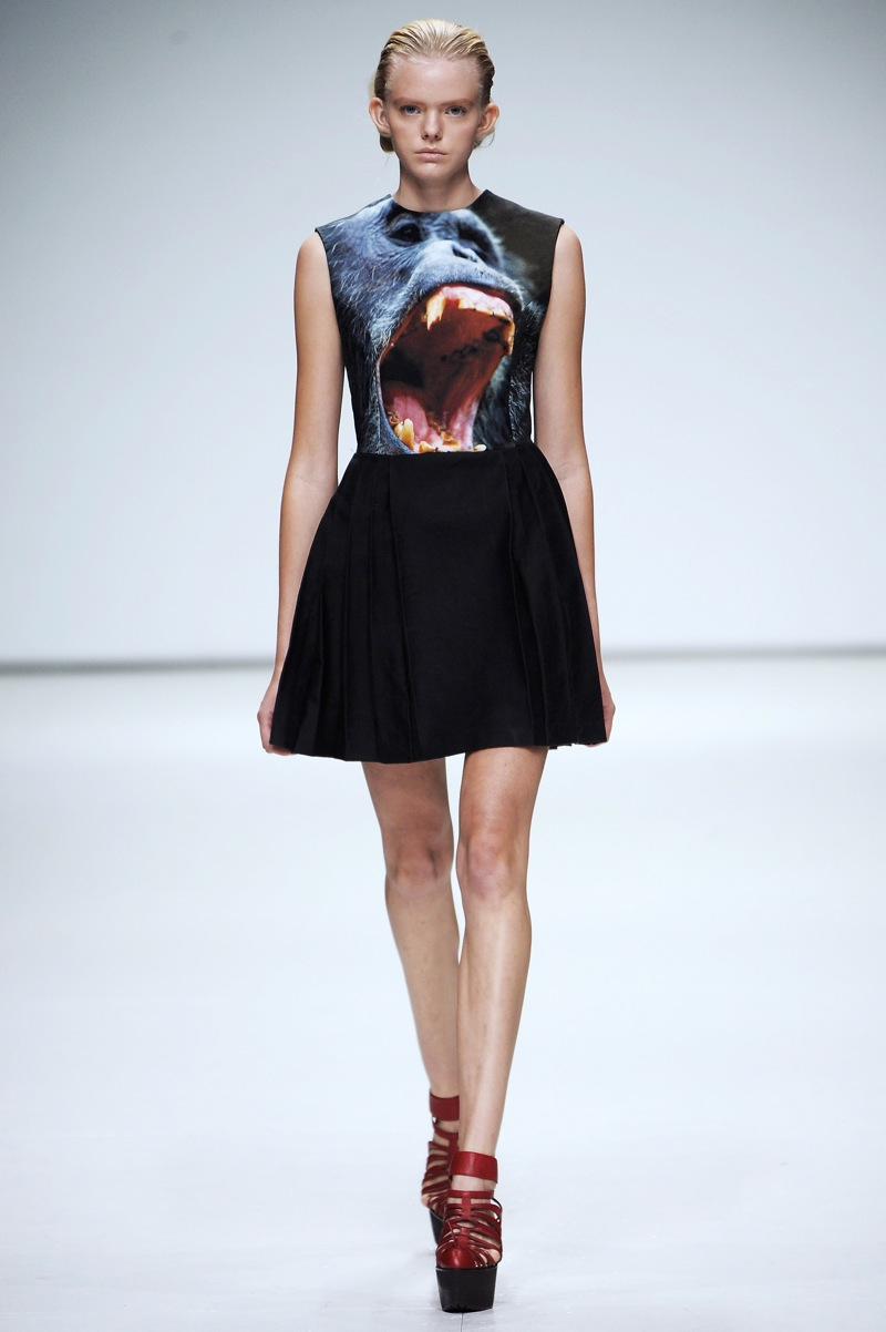 London Fashion Week: Christopher Kane Spring 2009