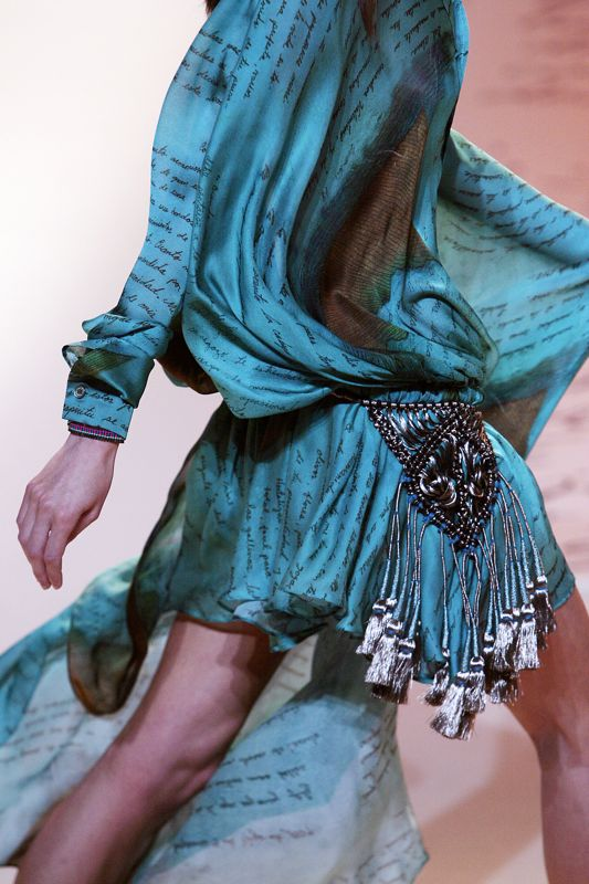 Paris Fashion Week: Emanuel Ungaro Spring 2009