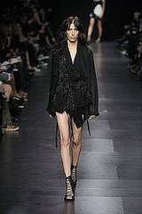 Paris Fashion Week: Ann Demeulemeester Spring 2009