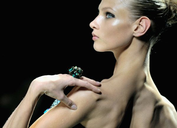 The Scapula Has Replaced The Clavicle As Fashion's Newest Unlikely Erotic Fantasy
