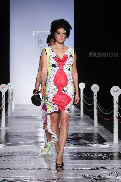 Mexico Fashion Week: Sergio Alcala Spring 2009