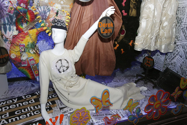 "Barneys ""Have A Hippie Holiday"" Holiday Windows"