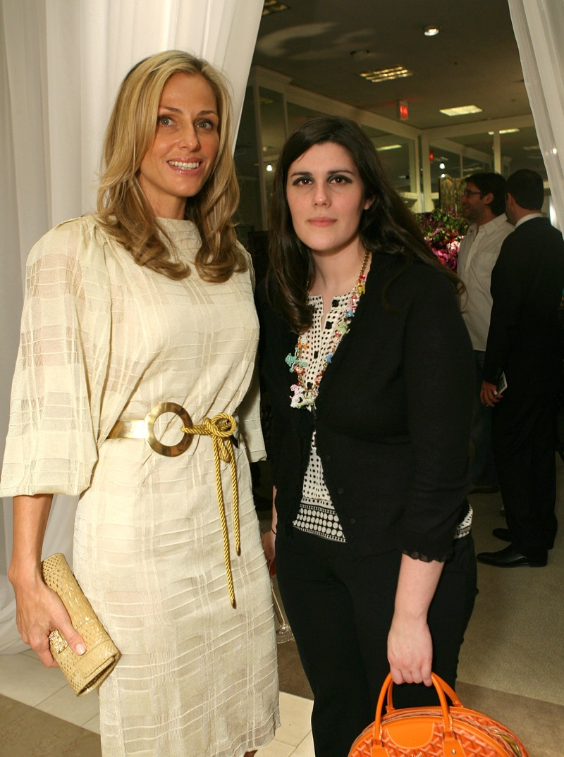 April 2007: Laura with Jamie Tisch