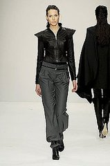 London Fashion Week: Aminaka Wilmont Fall 2008