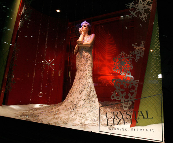 Swarovski window display