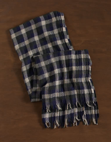 Buffalo Plaid Scarf $39.50, Martin + Osa